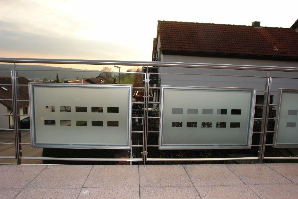 Balkonverkleidungen Walter Edelstahl Stahl Glas